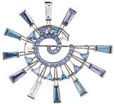 Eddie Borgo Galaxy Spiral Brooch