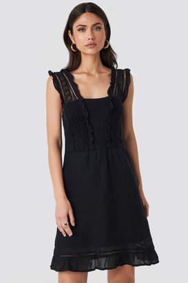 MANGO Suity Dress Black