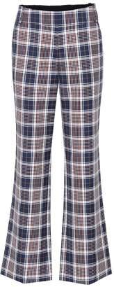 Tory Burch Garret plaid trousers