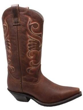 "AdTec Women's 8877 12"" Full Grain Oiled Leather Western Boot"