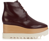 Stella McCartney Elyse lace-up platform boots