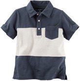 Carter's Colorblock Jersey Polo