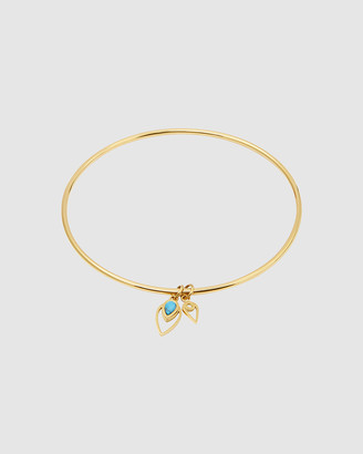 Pastiche - Women's Gold Bracelets - Peacock Bangle - Size One Size at The Iconic