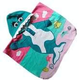 Panda Superstore Lovely Cartoon Series Dophin Hooded Bath Towel (100*60CM)