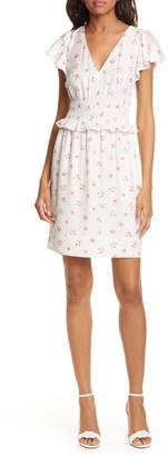 Rebecca Taylor Maui Floral Silk Blend Dress