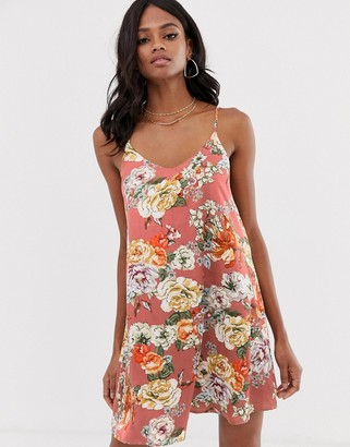 UNIQUE21 strappy back cami dress-Multi