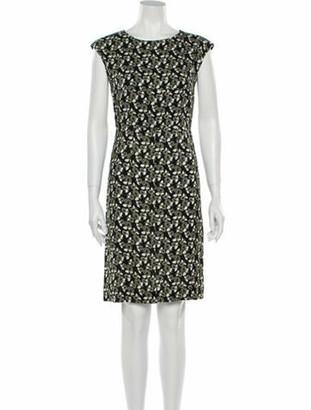 Marni Printed Mini Dress Black