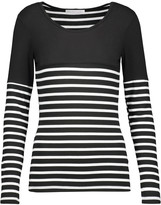 Kain Label Hunting striped stretch-jersey top