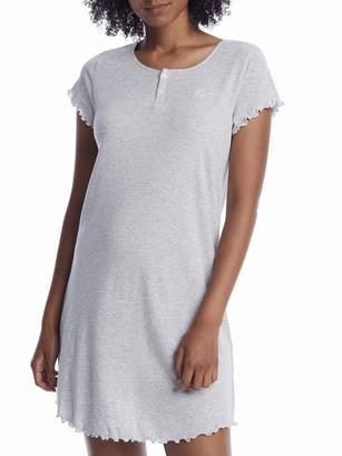 Lauren Ralph Lauren Heather Striped Knit Sleep Shirt