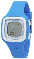 Rip Curl Women's 'Candy Digital' Quartz Plastic and Silicone Sport Watch, Color:Blue (Model: A2466G-ABL)