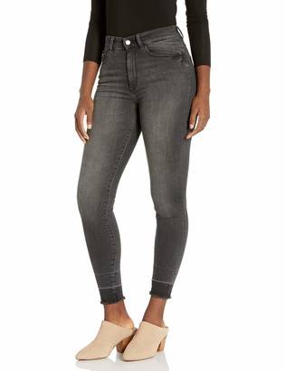 DL1961 Women's Farrow Ankle-High Rise Instasculpt Skinny Fit Jeans