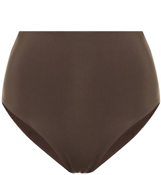 ASCENO Deia high-rise bikini bottoms