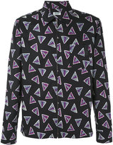 Kenzo Bermuda Triangles shirt - men - Cotton/Spandex/Elastane/Viscose - XS