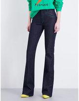 Fiorucci The Edie flared high-rise jeans