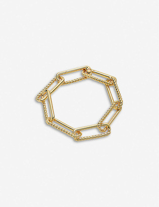 Missoma Half Radial 18ct yellow gold-plated vermeil bracelet