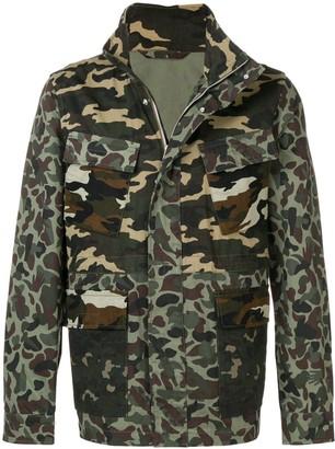 Paul Smith camouflage print jacket