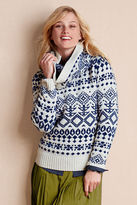 Women's Lambswool Sweater & Snood