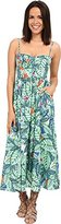 Mara Hoffman Women's Leaf-Print Dress