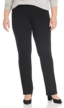 Seven7 Lia Tummyless Micro-Bootcut Jeans