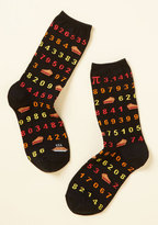 ModCloth Ratio Your True Colors Socks
