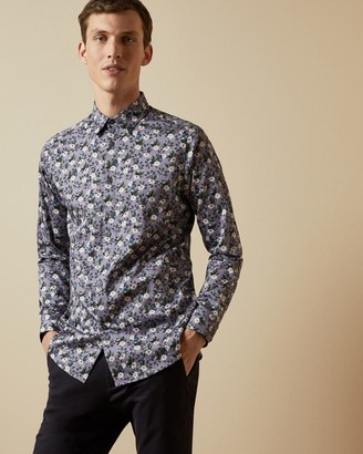 Ted Baker SHECAN Floral cotton shirt