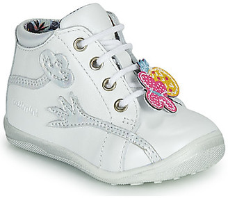 Catimini SALAMANDRE girls's Mid Boots in White