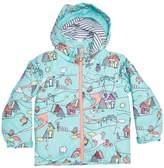 Roxy Girls Mini Jetty Little Miss 10k Snow Jacket Blue