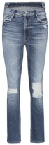 Mother The Dazzler Shift distressed jeans