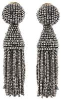 Oscar de la Renta Beaded tassel earrings