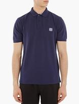 Stone Island Blue Regular-fit Polo Shirt