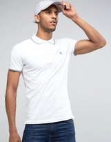 Diesel T-Skin Pique Tipped Polo