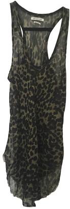 Etoile Isabel Marant Green Silk Top for Women