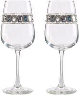 Bed Bath & Beyond Shimmering Wines® by Stemware Designs Gemstone Wine Glasses (Set of 2)