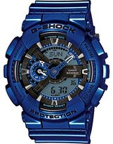 Casio Men's G-Shock GA110NM-2A Navy Plastic Quartz Watch