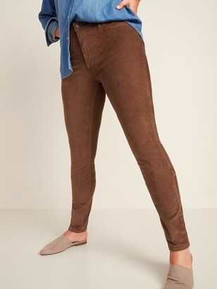 Old Navy Mid-Rise Rockstar Super Skinny Pop-Color Corduroy Pants for Women