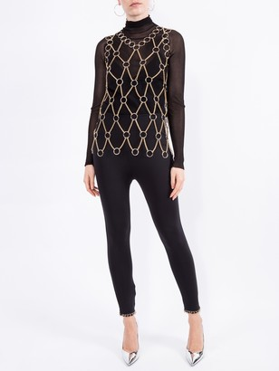 Paco Rabanne Metallic Chainmail Top