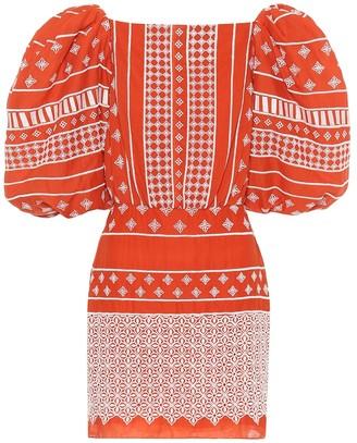 Johanna Ortiz Himalayas printed cotton minidress
