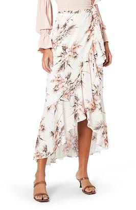 MinkPink Tahiti Holiday Wrap Skirt