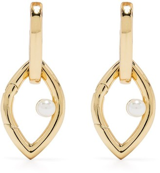 CAPSULE ELEVEN Eye Opener chain earrings