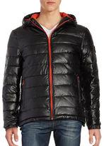 Cole Haan Zip-Front Puffer Jacket