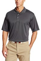 PGA TOUR Men's Big-Tall Short Sleeve Airflux Solid Polo Shirt