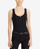 Denim & Supply Ralph Lauren Stretch Henley Bodysuit