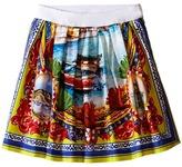 Dolce & Gabbana River Print Skirt (Toddler/Little Kids)
