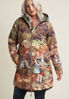 Blutsgeschwister Outdoor Imagination Water-Resistant Coat in L - Parka Coat by from ModCloth