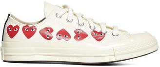Comme des Garcons X Converse Chuck Taylor Multi Heart Sneakers