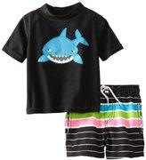Carter's Baby-Boys Infant Shark Rash Guard Set