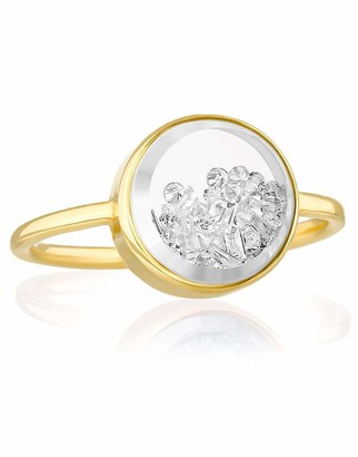 Moritz Glik Round Core Baby Diamond Shaker Ring