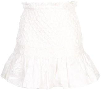 Alexis Peplum Hem Skirt