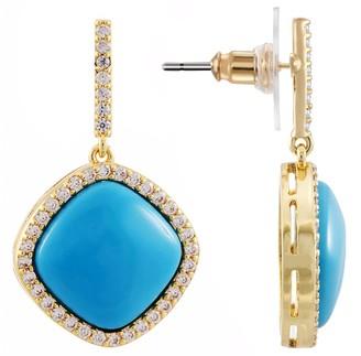 Nina Jewelry Cabochon Drop Earrings