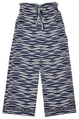LES COYOTES DE PARIS Tropea Wave Print Trousers (8-16 Years)